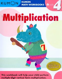 Kumon, Multiplication: Grade 4 (Paperback)