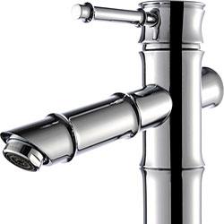 Kraus Bamboo-style Vessel Sink Bathroom Faucet