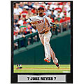 Jose Reyes 9x12 Photo Plaque