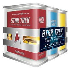 Star Trek: The Original Series Three Season Pack Remastered (DVD)