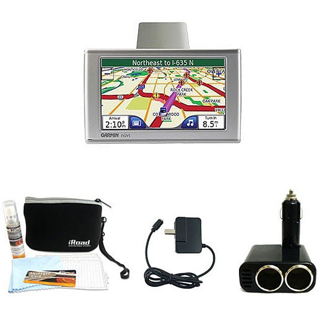 Garmin Nuvi 650 GPS Navigation Kit (Refurbished)