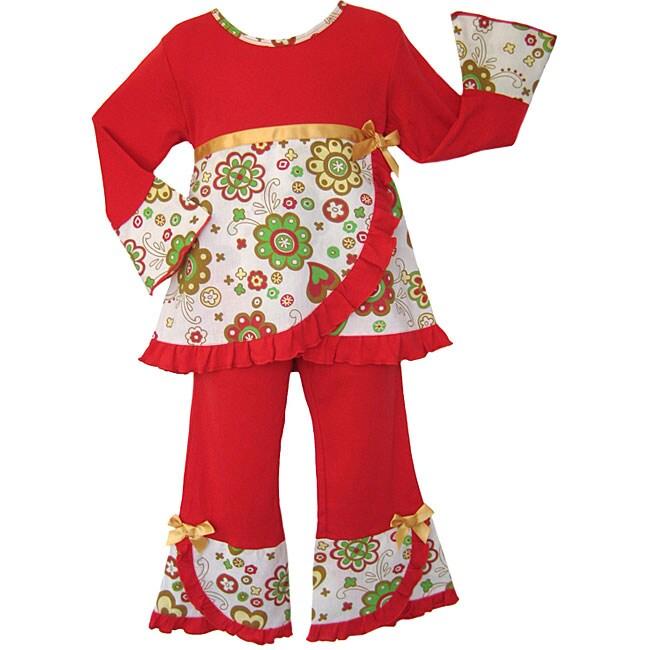 AnnLoren Girl's Boutique 2-piece Outfit