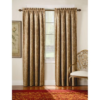 Thermal Backed Fresco Blackout  Wide Curtain Panel Pair