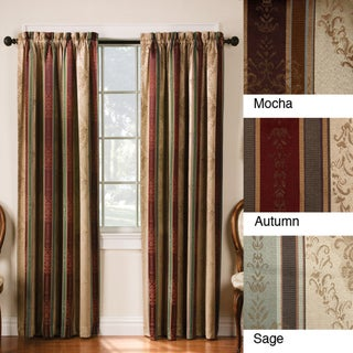 Thermal Backed Tuscan Blackout Curtain Panel - 2pc Set