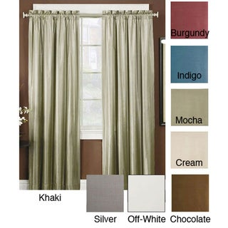 Thermal Backed Iridescent Curtain Panel Pair