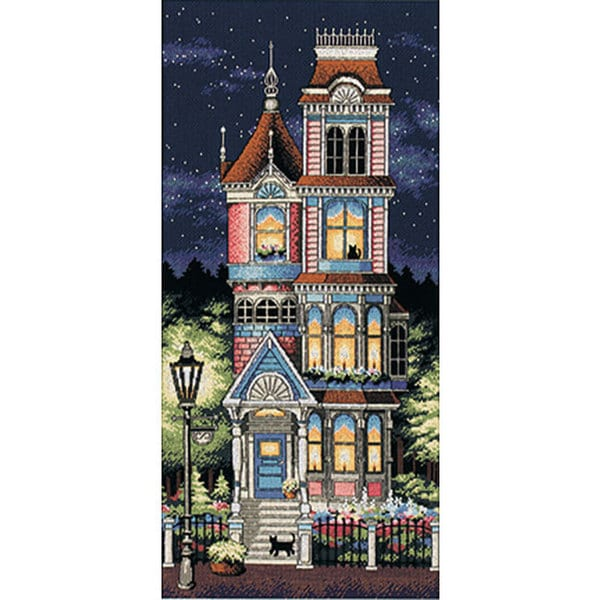 Victorian Charm Counted Cross Stitch Kit