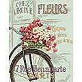 Parisian Bicycle Counted Cross Stitch Kit