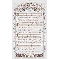 Amazing Grace Counted Cross Stitch Kit