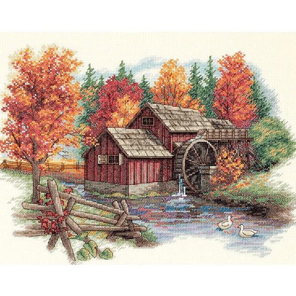 Glory Of Autumn Counted Cross Stitch Kit