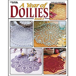 Leisure Arts 'A Year of Doilies: Book 5' Book