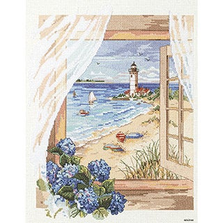 'A View From The Window' Counted Cross Stitch Kit