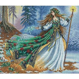 'Woodland Enchantress' Counted Cross Stitch Kit
