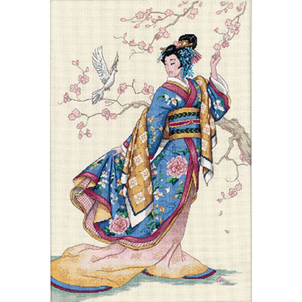 'Elegance of the Orient' Counted Cross Stitch Kit