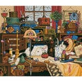 Maggie The Messmaker Counted Cross Stitch Kit