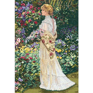 'In Her Garden' Counted Cross Stitch Kit
