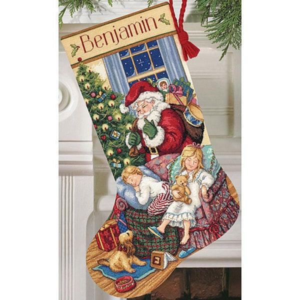 Long Stitch Christmas Stocking Kits