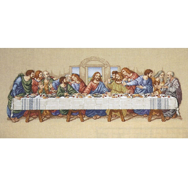 JANLYNN The Last Supper Counted Cross Stitch Kit at Sears.com