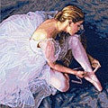 Dimensions 'Ballerina Beauty' Counted Cross Stitch Kit