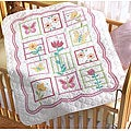 Bucilla Sophie Crib Cover Stamped Cross Stitch Kit