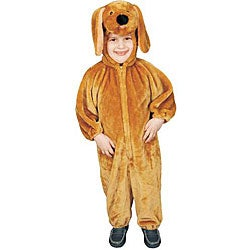 Brown Puppy Plush Costume