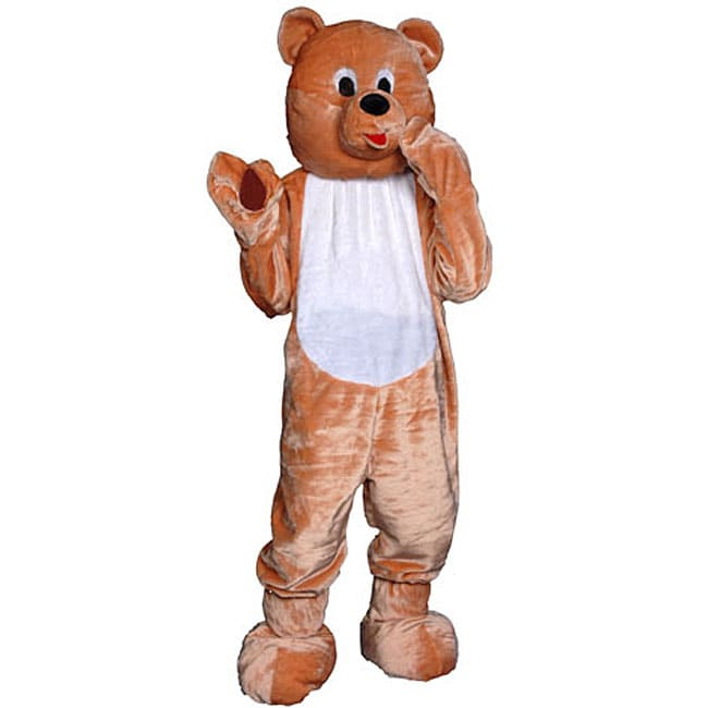 Adult/Youth Teddy Bear Mascot Costume