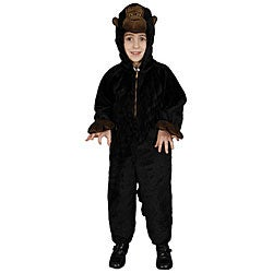 Boy's Plush Gorilla Costume