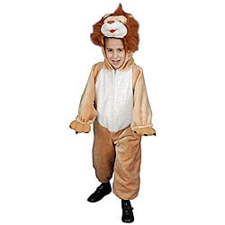 Kid's Plush Lion Costume