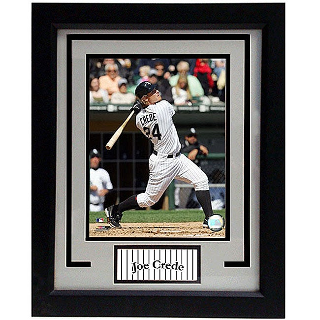 Chicago White Sox Joe Crede 11x14 Deluxe Framed Print