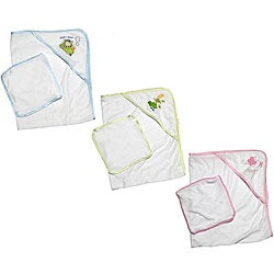 Hooded Towel and Wash Cloth Gift Set