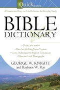 Quicknotes Bible Dictionary (Paperback)