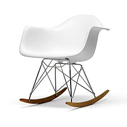 Vinnie White Cradle Chair