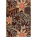 Hand-tufted Contemporary Mandara Area Rug (7'9 x 10'6