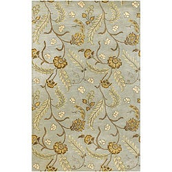 Hand-tufted Transitional Mandara Area Rug (7'9 x 10'6