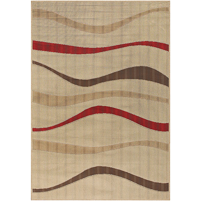 Artist's Loom Indoor/Outdoor Contemporary Geometric Rug (3'6 x 5'6) (Set of 2)