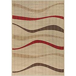 Set of 2 Indoor / Outdoor Mandara Mandara Rugs (3'6 x 5'6)