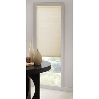 Cordless Honeycomb Ivory Cellular Shade