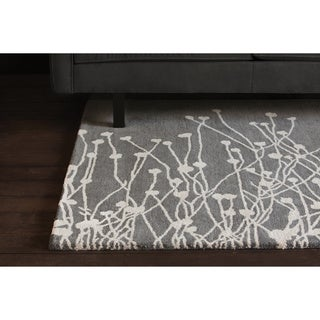 Hand-tufted Rojan Wool Rug (5' x 7'6)