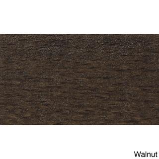 Walnut X-back Wheat Microfiber Seat Barstool