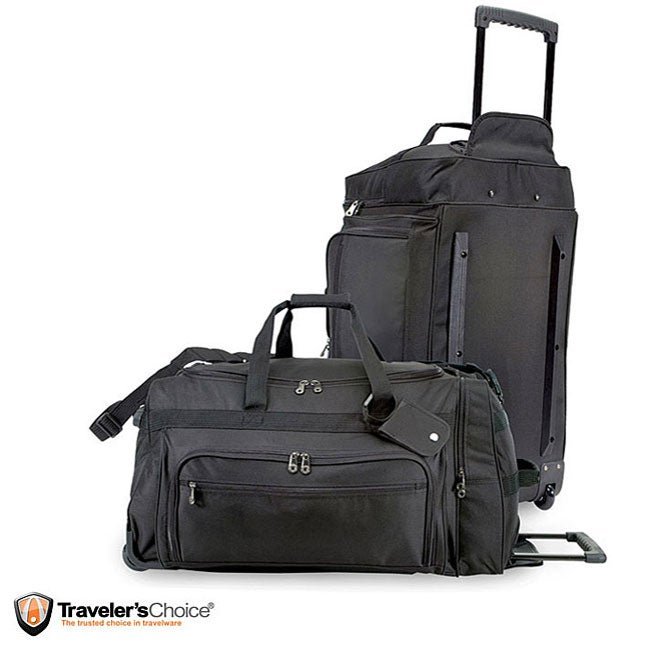 G Pacific Titan 28-inch Rolling Durable Polyester Upright Duffel Bag