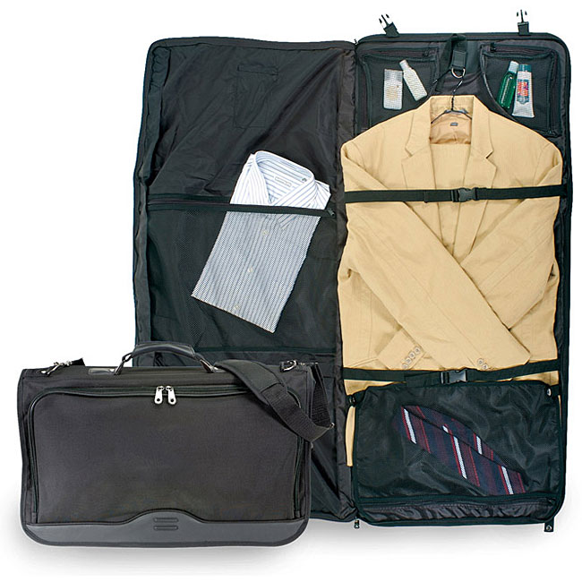 Traveler's Choice Tribeca Nylon Tri-fold Carry-on Garment Bag