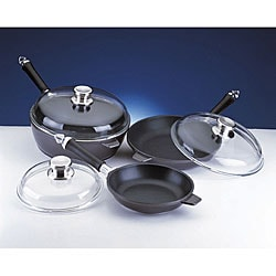 Cast Aluminum 6-piece Non-stick Cookware Set