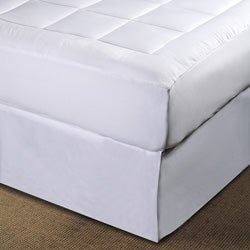 Luxurious Microplush Pillow Top Mattress Pad Overstock