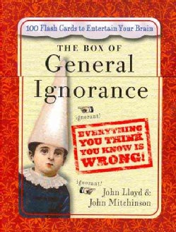 The Box of General Ignorance: 100 Flash Cards to Entertain Your Brain (Cards)