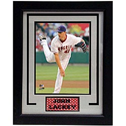 Anaheim Angels John Lackey 11x14 Deluxe Frame Photo