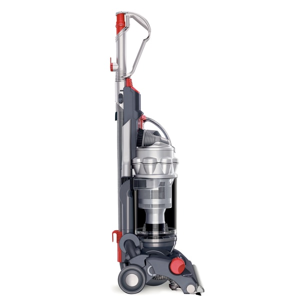 Dyson DC14 Steel/ Red All Floors Vacuum Cleaner (Refurbished)