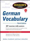Schaum's Outline of German Vocabulary (Paperback)