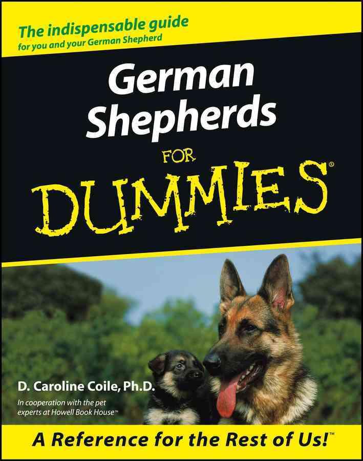 German Shepherds for Dummies (Paperback)