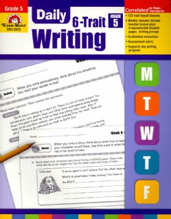 Daily 6-Trait Writing, Grade 5 (Paperback)