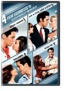 4 Film Favorite: Elvis Presley Musicals (DVD)