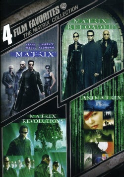 4 Film Favorite: The Matrix Collection (DVD)